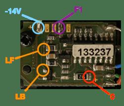 Décodeur Märklin 133237 Points de connection