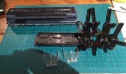 Réparation du chassis de la BB 67000 Lima