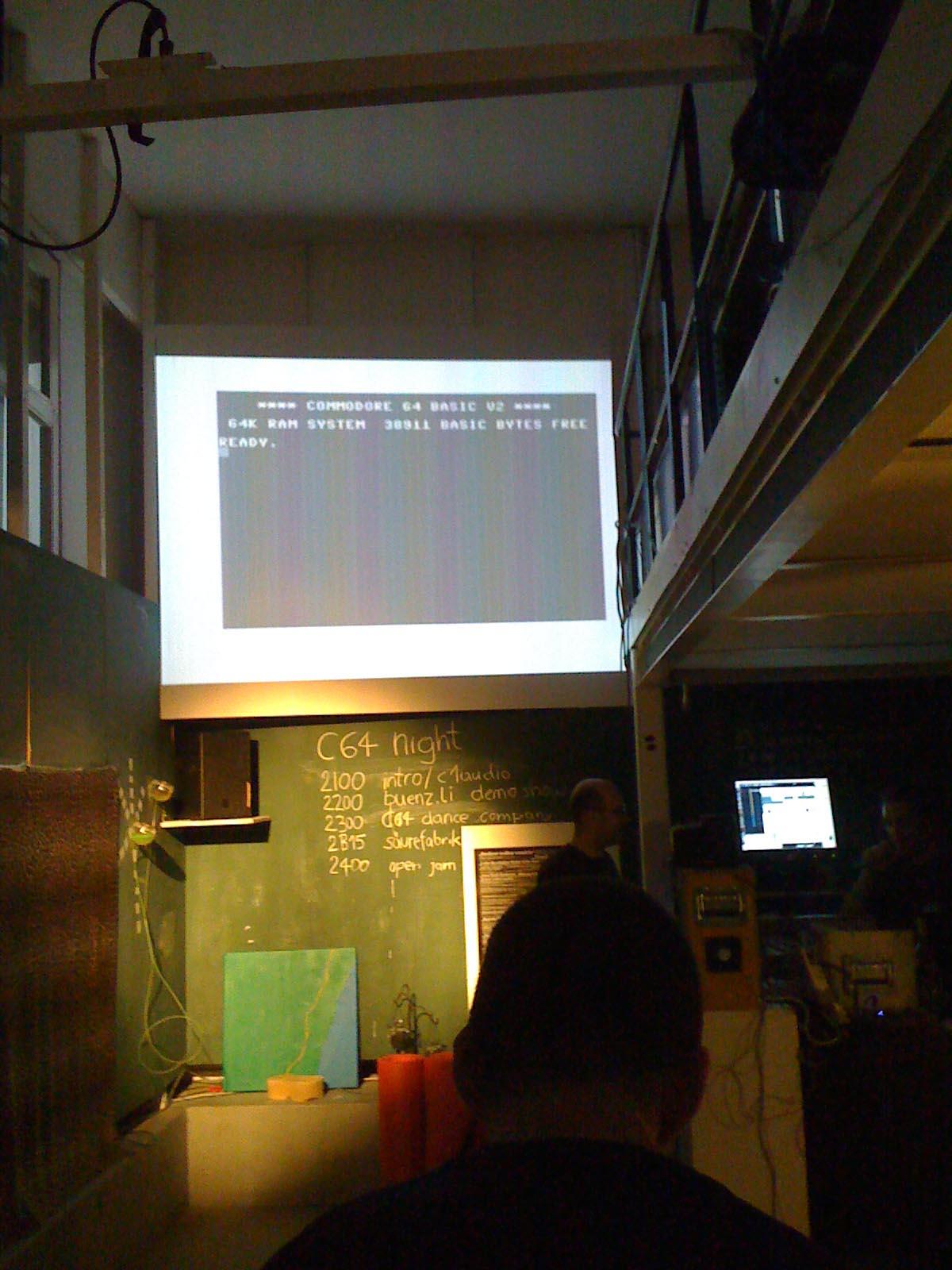 C64 Nacht @ Rote Fabrik