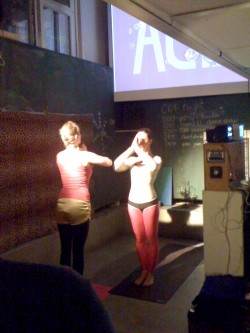 C-64 Dancing @ Die grosse C64 Nacht im Dock18