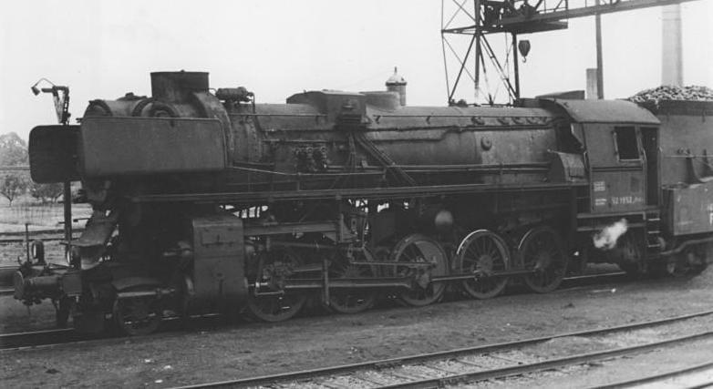 Locomotive à vapeur BR 52