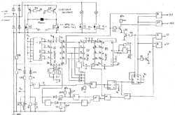 Schematics for an Märklin decoder by a student of the Technical University of Biel/Bienne