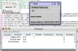Screen Capture of my Failure Detector Service Running