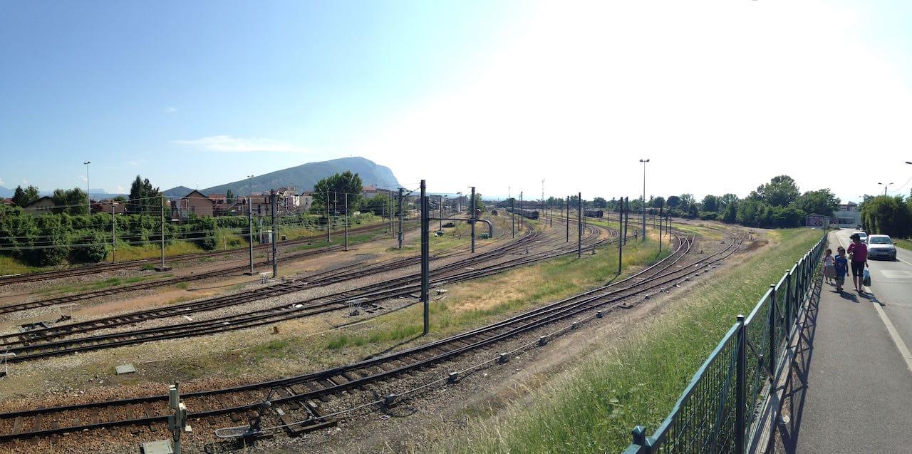 Faisceau de voies de la gare d'Annemasse, Avant le CEVA