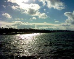 vue du lac depuis Hermance