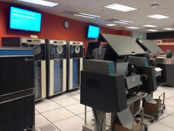 IBM 1401 Mainframe computer with accessories