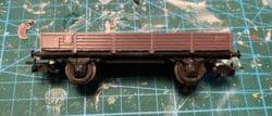 Wagon Märklin en tôle avec caisse en impression 3D.