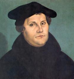 Martin Luther par Cranach – Domaine Public