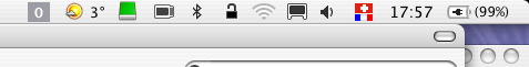 My menu Bar