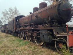 Vieilles locomotives yougloslaves