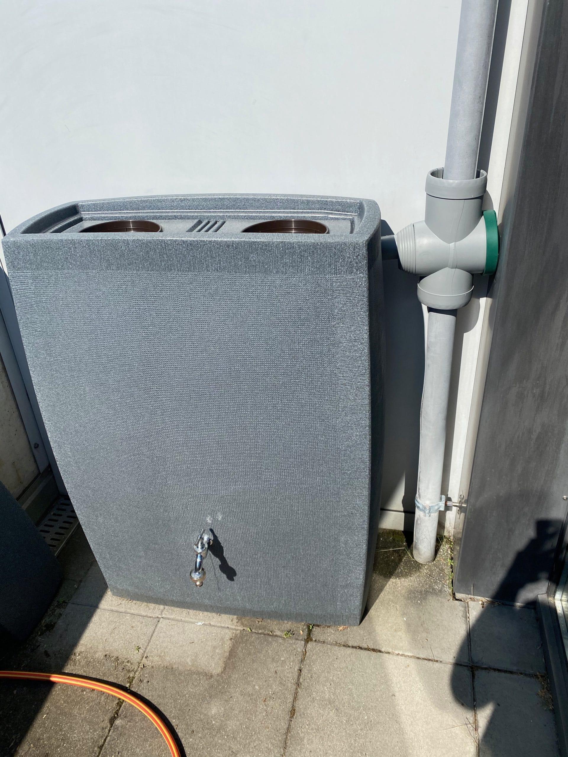 Réservoir d'eau de pluie Noblesse 2275 L Black Granit