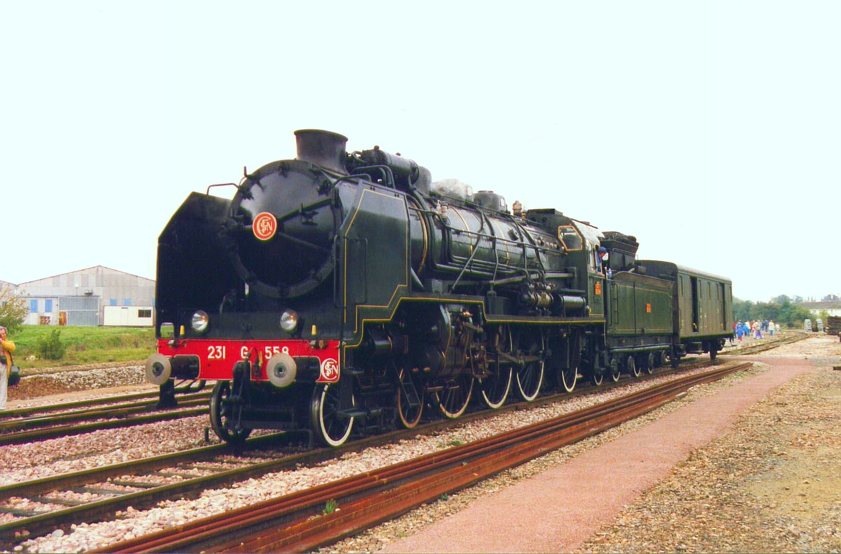 Locomotive à Vapeur Pacific 231 G.
