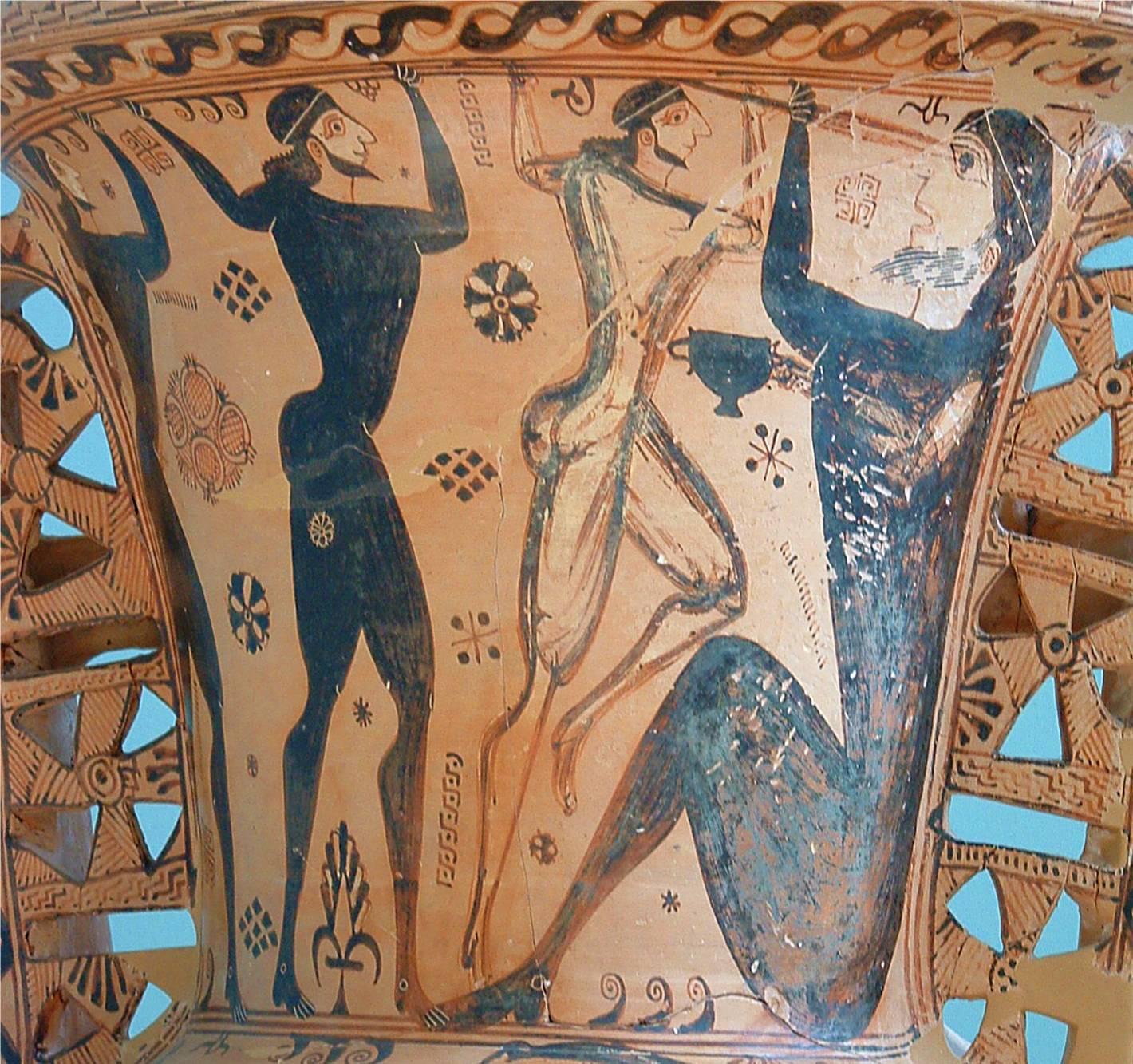 Ulysse aveuglant Polyphème