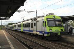 S-Bahn S2 Biel-Belp, avec un wagon Jumbo-B