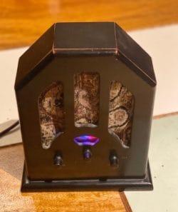 Radio Enclosure with Bluetooth circuit