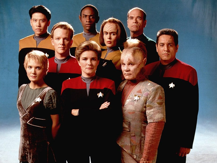 The Crew of Star Trek Voyager