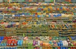 Rayonnage de Supermarché