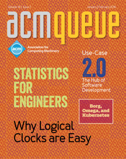 ACM Queue Volume 14 Issue 1
