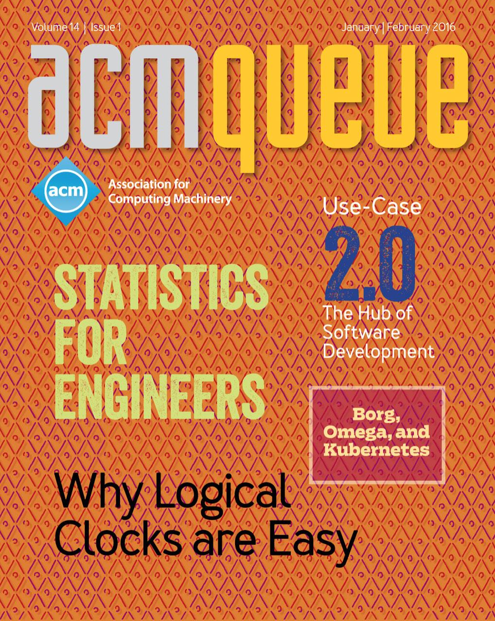 ACM Queue Volume 14 Issue 1