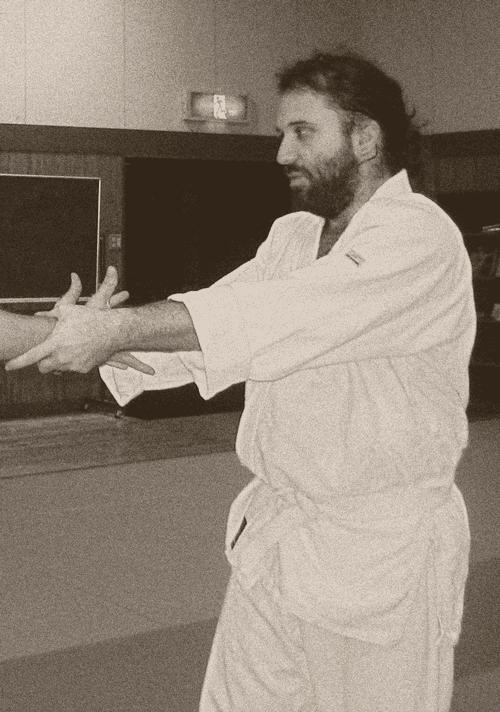 Matthias Wiesmann en tant que uke