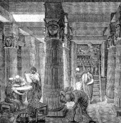 The Great Library of Alexandria – O. Von Corven