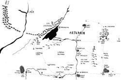 Carte Arthedain Ouest