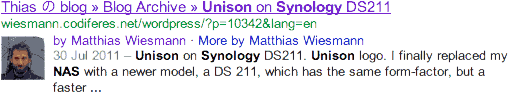 Thias の blog » Blog Archive » Unison on Synology DS211