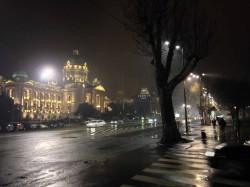 Parlement Serbe de Nuit