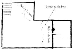 Plan de la cave pour le scénario «Sur le Bord de l'Aile»