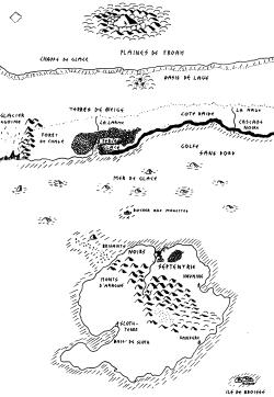 Carte du scénario la Trame des Rêves