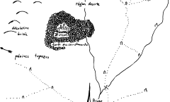 Carte du Scénario Rêve de Dragon «La Gemme»