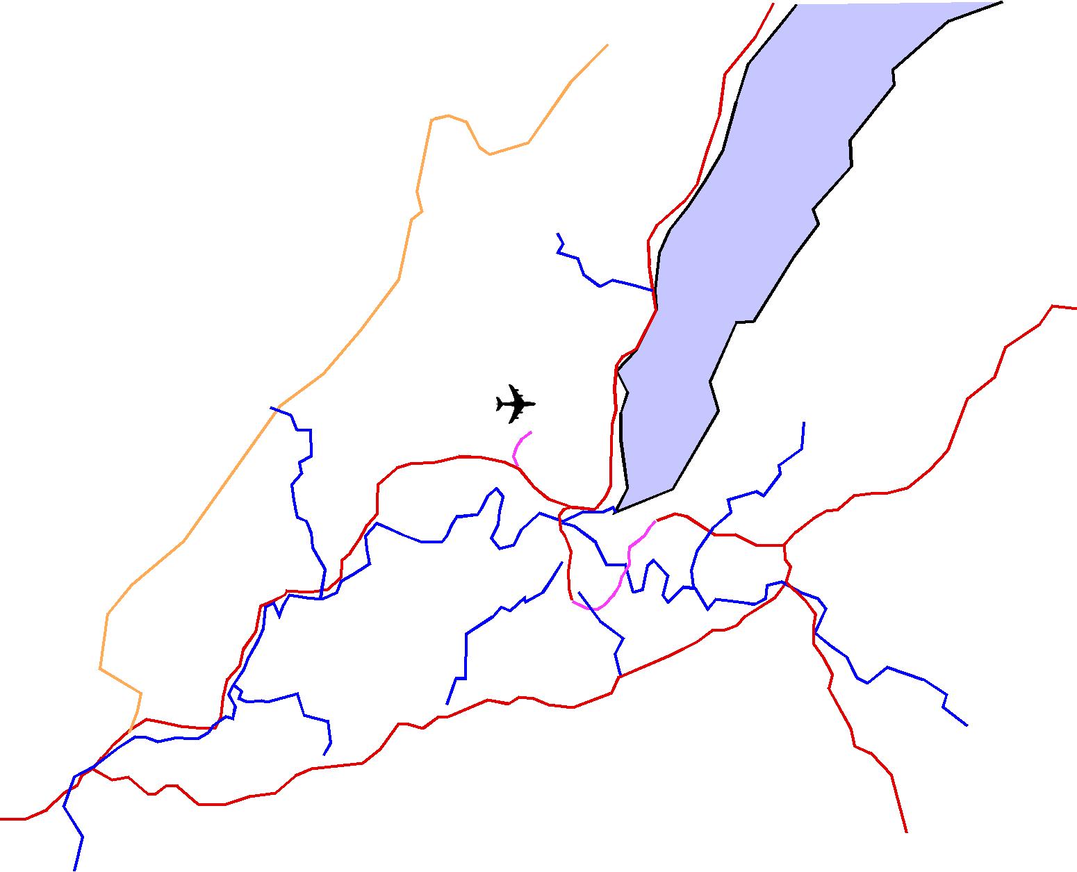 Carte Lignes Train Genève