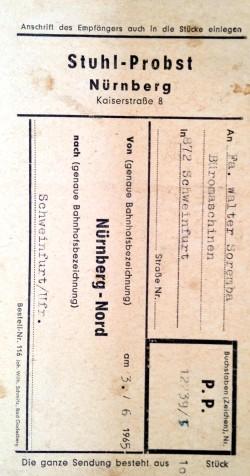 Étiquette Stuhl-Probst