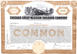 Actions de la Chicago Great Western Railway