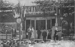 Fête de Neuilly-sur-Seine, Le Cirque Corvi, postcard c. 1900