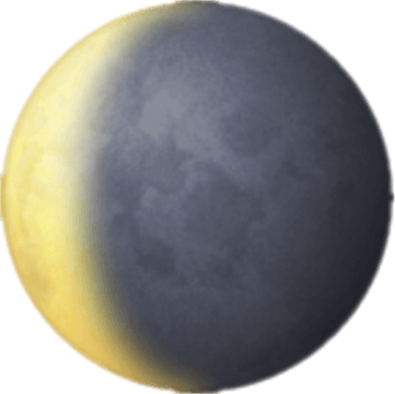 Waning Crescent Moon ()