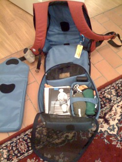 Open Crumpler Bag