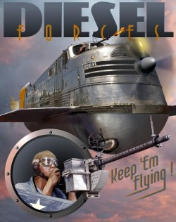 Diesel Forces – Keep'em Flying
