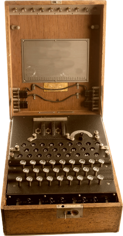 Machine Enigma Effacée