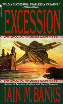 Excession by Iain Banks – Cover