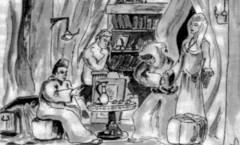 La Fresque d'Oriane la Grise – numérisé