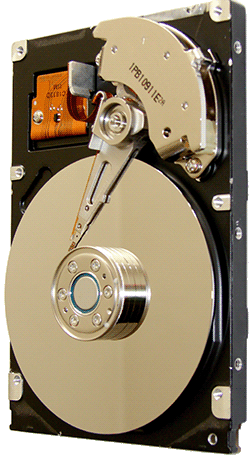 Hard Drive Cover removed Ⓒ Wikicommons