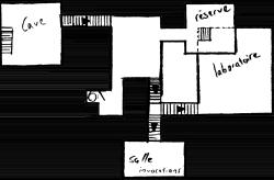 Plans d'une tour médiévale