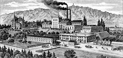 Brasserie Hürlimann aux alentours de 1900