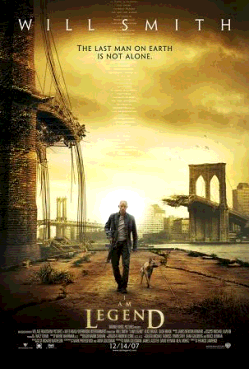 Poster for «I am Legend»