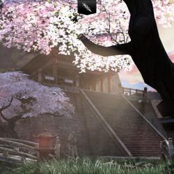 Infinity blade – sakura garden