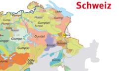 Le petit atlas des langues de suisse-alémanique