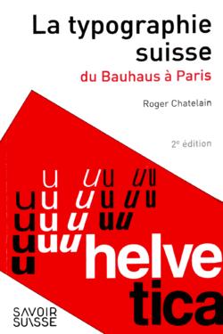Couverture du livre «La typographie suisse»