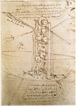 Machine Volante – Léonard de Vinci
