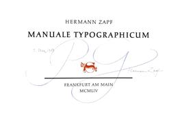 Manuale Typographicum